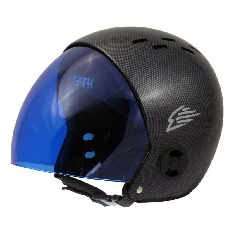 RV-CARBON-BLU-VISOR
